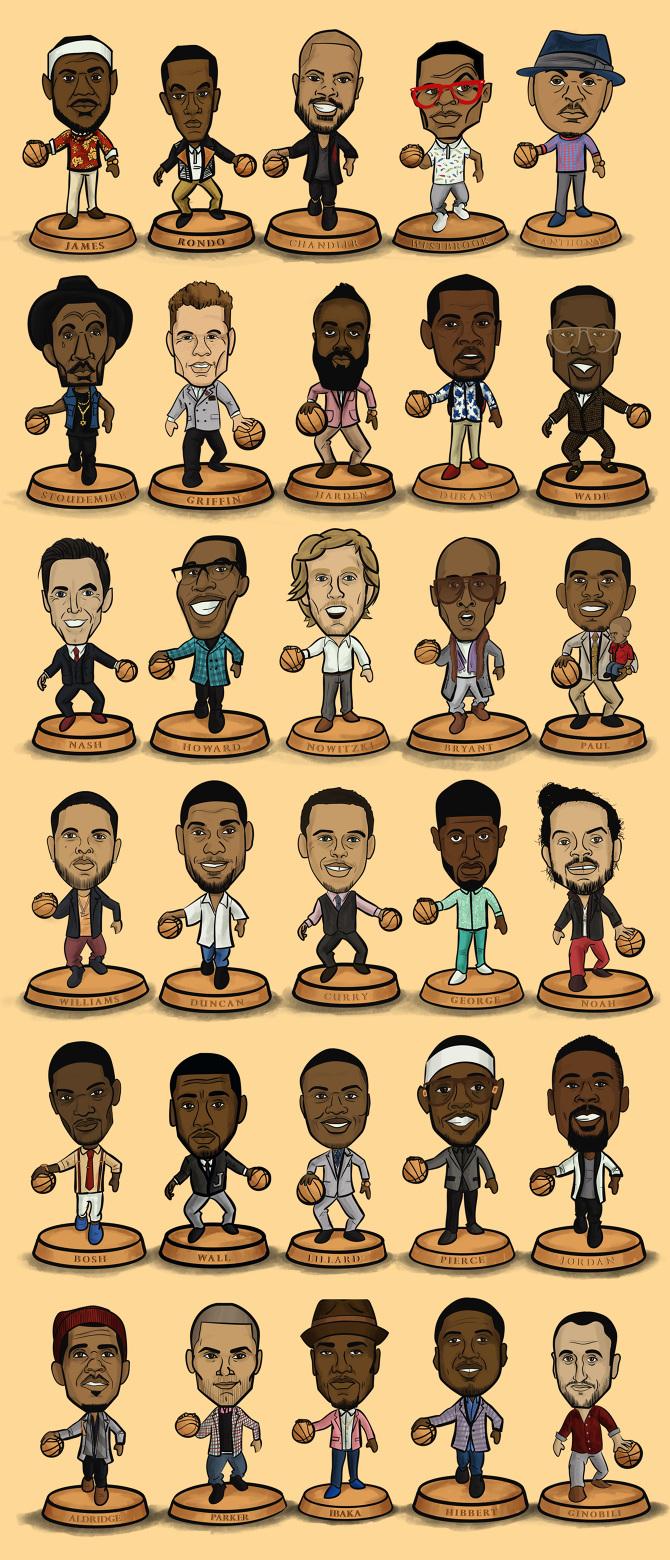 NBA Fashion Headliners - Henry Kaye