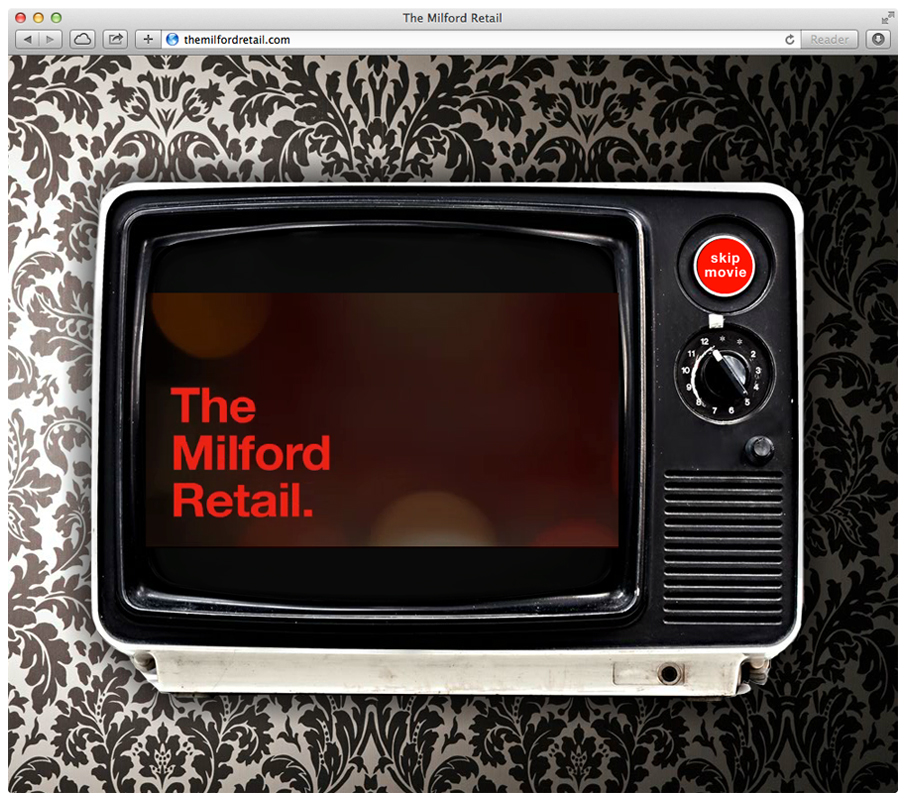The Milford Retail Andy Orge Art Director Graphic